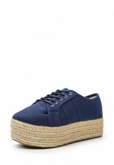 Кеды, Coco Perla, цвет: синий. Артикул: CO039AWTDU37. Женская обувь / Кроссовки и кеды