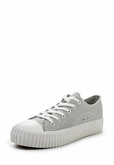 Кеды, Coolway, цвет: серый. Артикул: CO047AWRWR33. Женская обувь / Кроссовки и кеды