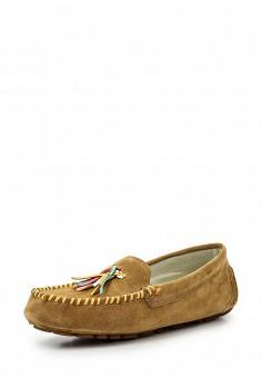 Мокасины, Dino Ricci Select, цвет: коричневый. Артикул: DI034AWQYW52. Женская обувь / Мокасины и топсайдеры