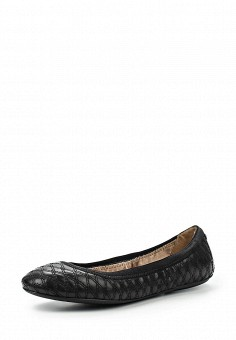 Балетки, DKNY, цвет: черный. Артикул: DK001AWIRK89. Премиум / Обувь / Балетки