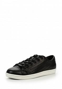 Кеды, DKNY, цвет: черный. Артикул: DK001AWJKX25. Женщинам / Обувь / Кроссовки и кеды