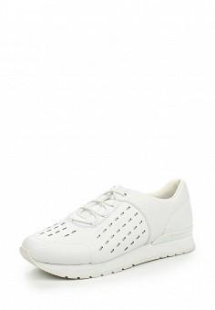 Кроссовки, DKNY, цвет: белый. Артикул: DK001AWJKZ44. Женская обувь / Кроссовки и кеды / Кроссовки
