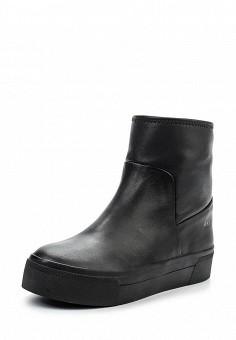 Ботинки, DKNY, цвет: черный. Артикул: DK001AWMGI39. Премиум / Обувь