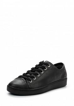 Кеды, DKNY, цвет: черный. Артикул: DK001AWPVH91. Женская обувь / Кроссовки и кеды