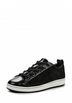 Кеды, DKNY, цвет: черный. Артикул: DK001AWPVH99. Женская обувь / Кроссовки и кеды