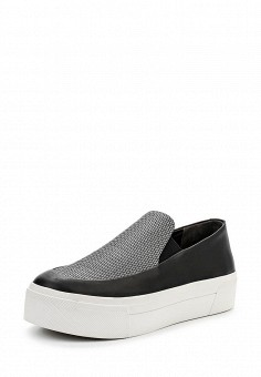 Слипоны, DKNY, цвет: черный. Артикул: DK001AWPVI03. Премиум / Обувь