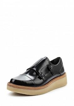 Ботинки, DKNY, цвет: черный. Артикул: DK001AWPVI13. Премиум / Обувь