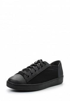 Кеды, DKNY, цвет: черный. Артикул: DK001AWROY26. Женская обувь / Кроссовки и кеды
