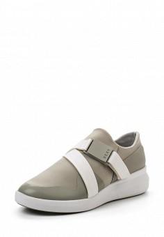 Кроссовки, DKNY, цвет: серый. Артикул: DK001AWROY51. Женская обувь / Кроссовки и кеды
