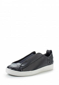Кеды, DKNY, цвет: черный. Артикул: DK001AWVBF26. Женская обувь / Кроссовки и кеды