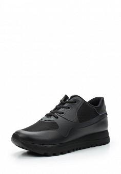 Кроссовки, DKNY, цвет: черный. Артикул: DK001AWVBF31. Женская обувь / Кроссовки и кеды