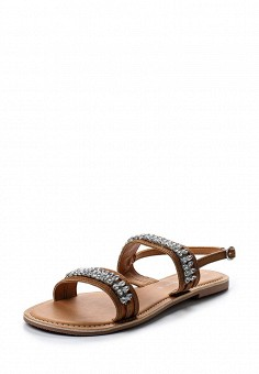 Сандалии, Dorothy Perkins, цвет: коричневый. Артикул: DO005AWUZR38. Женская обувь / Сандалии