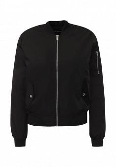 Куртка утепленная, Dorothy Perkins, цвет: черный. Артикул: DO005EWKVW50. Женская одежда / Верхняя одежда / Демисезонные куртки