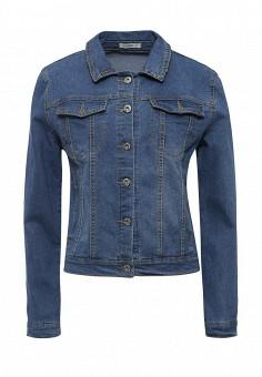 Куртка джинсовая, Dorado, цвет: синий. Артикул: DO035EWRUQ18. Женская одежда / Тренды сезона / Летний деним / Джинсовые куртки