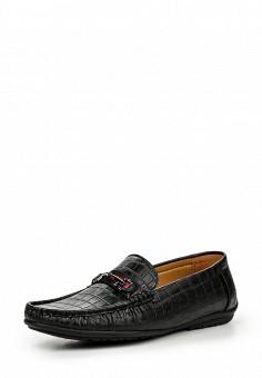 Мокасины, Elong, цвет: черный. Артикул: EL025AMIOW66. Мужская обувь / Мокасины и топсайдеры