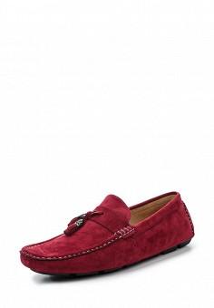 Мокасины, Elong, цвет: бордовый. Артикул: EL025AMRTU36. Мужская обувь / Мокасины и топсайдеры