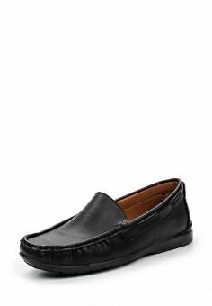 Топсайдеры, Elong, цвет: черный. Артикул: EL025AMRVC26. Мужская обувь / Мокасины и топсайдеры