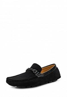 Мокасины, Elong, цвет: черный. Артикул: EL025AMTJL11. Мужская обувь / Мокасины и топсайдеры
