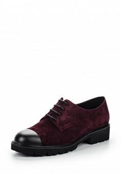 Ботинки, El'Rosso, цвет: бордовый. Артикул: EL032AWRHI52. Женская обувь / Ботинки