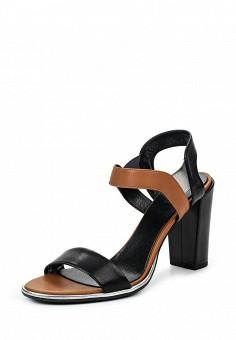 Босоножки, Conhpol-Bis, цвет: черный. Артикул: ER946AWRBY68. Женская обувь / Босоножки