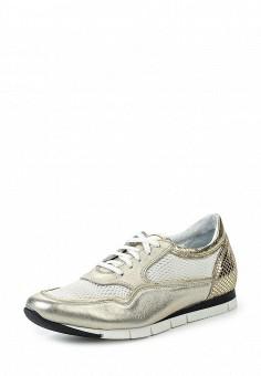 Кроссовки, Simen, цвет: золотой. Артикул: ER946AWRJD54. Женская обувь / Кроссовки и кеды / Кроссовки
