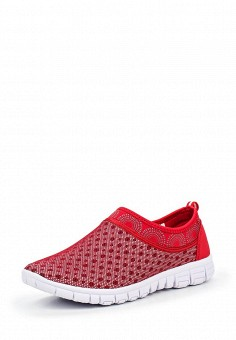 Кроссовки, Escan, цвет: красный. Артикул: ES021AWQSB40. Женская обувь / Кроссовки и кеды / Кроссовки
