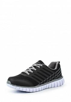 Кроссовки, Escan, цвет: черный. Артикул: ES021AWQSB45. Женская обувь / Кроссовки и кеды / Кроссовки