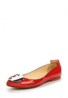 Балетки, Fabi, цвет: красный. Артикул: FA075AWNXW77. Премиум / Обувь / Балетки