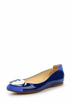 Балетки, Fabi, цвет: синий. Артикул: FA075AWNXW78. Премиум / Обувь / Балетки