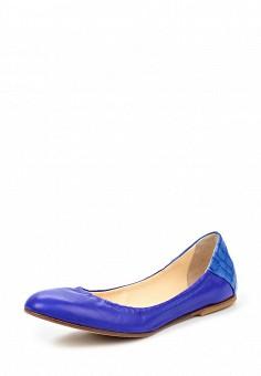 Балетки, Fabi, цвет: синий. Артикул: FA075AWNXW99. Премиум / Обувь / Балетки