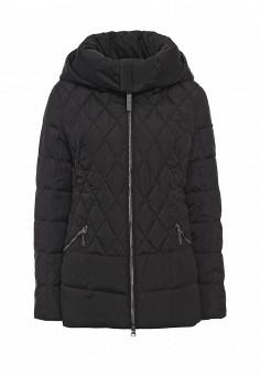 Куртка утепленная, FiNN FLARE, цвет: черный. Артикул: FI001EWKHF54. Женская одежда / Верхняя одежда
