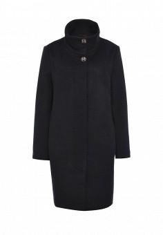 Пальто, FiNN FLARE, цвет: синий. Артикул: FI001EWKHF77. Женская одежда / Верхняя одежда