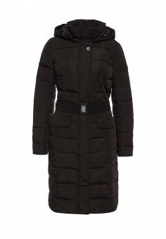 Куртка утепленная, FiNN FLARE, цвет: черный. Артикул: FI001EWKHG11. Женская одежда / Верхняя одежда