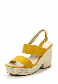 Босоножки, Fiori&Spine, цвет: желтый. Артикул: FI021AWSZD94. Женская обувь / Босоножки