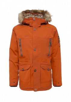 Парка, FIVE seasons, цвет: коричневый. Артикул: FI615EMMLN49. Мужская одежда / Верхняя одежда / Парки