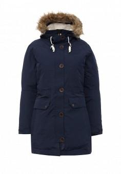 Парка, FIVE seasons, цвет: синий. Артикул: FI615EWMLN82. Женская одежда / Верхняя одежда / Пуховики и зимние куртки