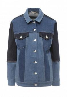 Куртка джинсовая, French Connection, цвет: синий. Артикул: FR003EWQDV26. Женская одежда / Тренды сезона / Летний деним / Джинсовые куртки