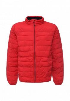 Куртка утепленная, Gap, цвет: красный. Артикул: GA020EMKCS26. Мужская одежда / Верхняя одежда