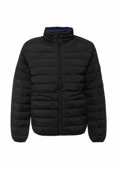 Куртка утепленная, Gap, цвет: черный. Артикул: GA020EMKCS27. Мужская одежда / Верхняя одежда