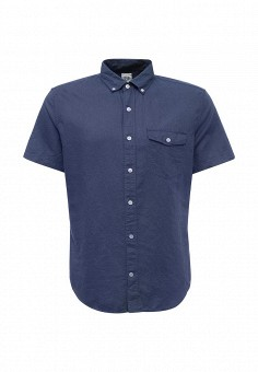 Рубашка, Gap, цвет: синий. Артикул: GA020EMQAM21. Мужская одежда / Рубашки