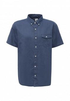 Рубашка, Gap, цвет: синий. Артикул: GA020EMQAN32. Мужская одежда / Рубашки