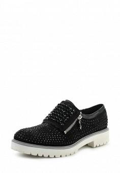 Ботинки, Gioiosita, цвет: черный. Артикул: GI029AWSAG35. Женская обувь / Ботинки / Низкие ботинки