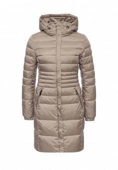 Куртка утепленная, Grishko, цвет: бежевый. Артикул: GR371EWLKN54. Женская одежда / Верхняя одежда / Пуховики и зимние куртки
