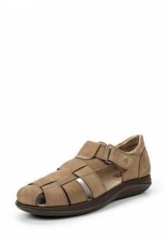 Туфли, 24HRS, цвет: коричневый. Артикул: HR001AMSRS40.