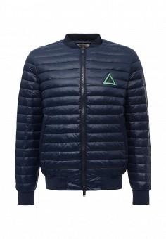 Пуховик, Iceberg, цвет: синий. Артикул: IC461EMTWQ25. Мужская одежда / Верхняя одежда / Пуховики и зимние куртки