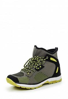 Кроссовки, Icepeak, цвет: хаки. Артикул: IC647AWRXC29. Женская обувь / Кроссовки и кеды / Кроссовки