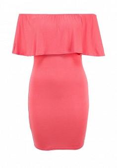 Платье, Influence, цвет: розовый. Артикул: IN009EWFIB96. Женская одежда / Платья и сарафаны / Летние платья