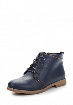 Ботинки, Instreet, цвет: синий. Артикул: IN011AWENJ54. Женская обувь / Ботинки