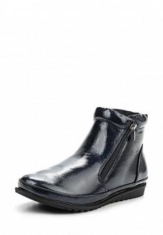 Ботинки, Instreet, цвет: синий. Артикул: IN011AWPRC50. Женская обувь / Ботинки