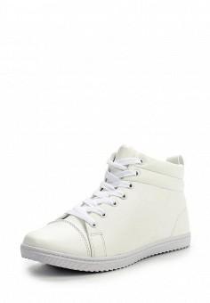 Кеды, Inario, цвет: белый. Артикул: IN029AWLPE26. Женская обувь / Кроссовки и кеды / Кроссовки